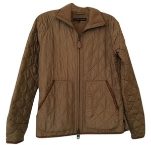 Ralph Lauren Quilted Brown/Tan Jacket