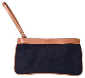 Kate Spade Vintage Tan Wristlet in Black