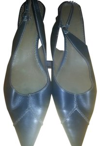 AK Anne Klein Navy Blue Pumps