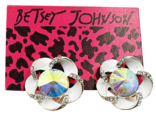 Betsey Johnson Betsey Johnson Colorful Floral Earrings