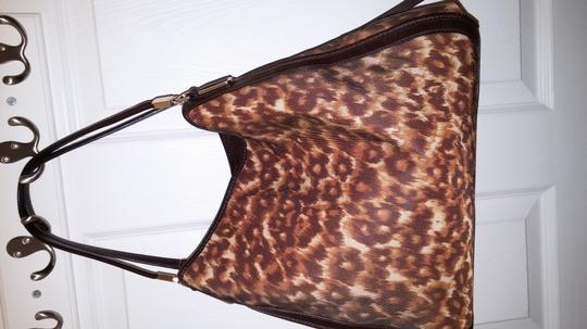 Coach Nwt Madison Phoebe Satchel in Ocelot