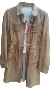 From Italy Carmel Leather Jacket