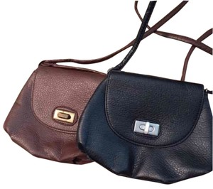 BP. Clothing Brown Buckle Cross Body Bag