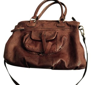 Carla Mancini Satchel in Brown