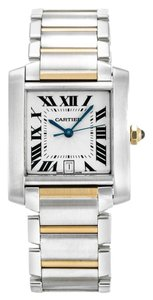Cartier CARTIER TANK FRANCAISE W51005Q4 GOLD AND STEEL MEN'S WATCH