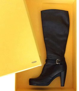 Fendi Deep chocolate brown Boots