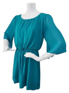 Alice + Olivia short dress Teal Green + New With Tags on Tradesy