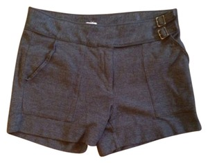 J.Crew Buckle Shorts Gray