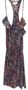 Parker short dress Floral Multi Mini Camisole Ruffle Floral Racerback on Tradesy