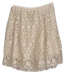 Club Monaco Skirt Cream
