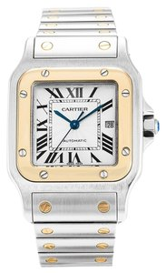 Cartier CARTIER SANTOS W20058C4 STEEL AND YELLOW GOLD MEN'S WATCH