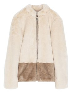 Zara Faux Fur Fur Coat