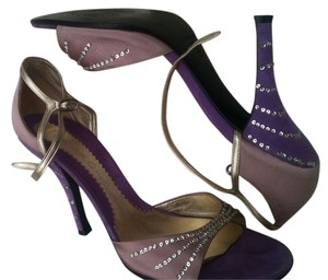 Casadei Purple Pumps
