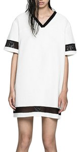 THE FIFTH short dress white and black. on Tradesy