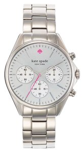Kate Spade KATE SPADE Gramercy Grand Stainless Steel Chronograph Watch #1YRU0480