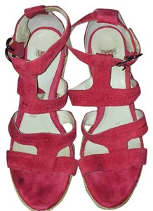UGG Australia Red Wedges