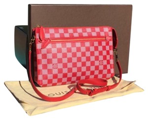 Louis Vuitton Canvas Limited Edition Damier Cross Body Bag