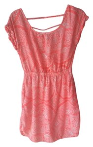 American Eagle Outfitters short dress Bright, Neon Orange on Tradesy