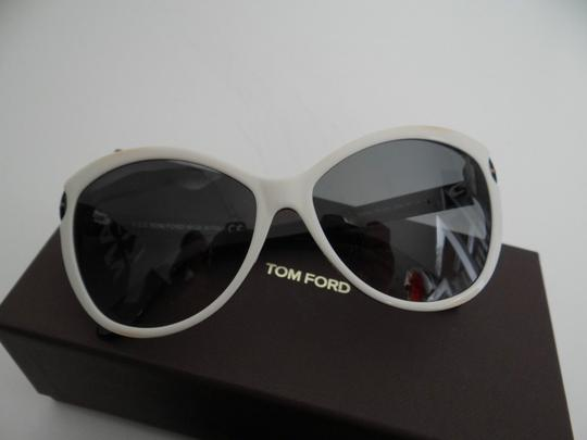 Tom Ford TOM FORD Telma Ivory Soft Cat-Eye Sunglasses NWT TF325 25B 60 14 135