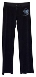 Juicy Couture terry sweatpants Athletic Pants Black terry