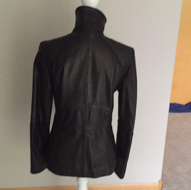 Cole Haan Blac Leather Jacket