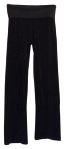 Juicy Couture Boot Cut Pants Black velour