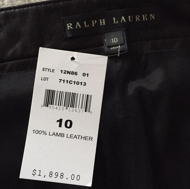 Ralph Lauren Black Label Straight Pants Black lamb