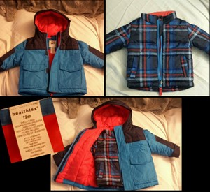 Healthex Winter Jacket Infant Coat