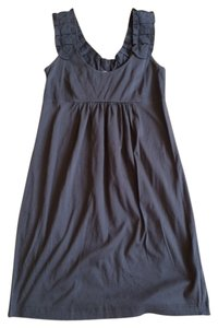 J.Crew short dress Gray Tank Ruffle on Tradesy