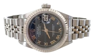 Rolex Rolex Ladies SS 18k WG Datejust Watch 69174