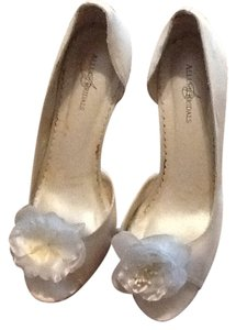 Allure Bridals Diamond white Platforms