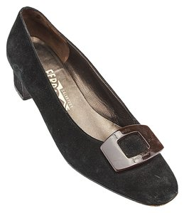 Salvatore Ferragamo Heels Black Formal