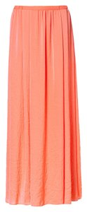 Zara Maxi Shirt Maxi Skirt Orange