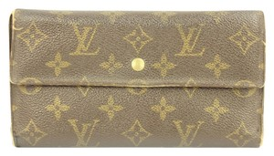 Louis Vuitton Louis Vuitton Monogram Long Wallet LVWLM13