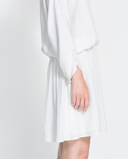Zara short dress White Skirt on Tradesy