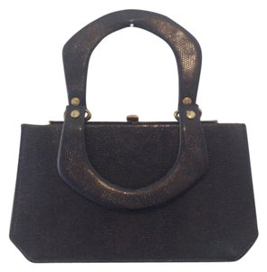 Franklin Simon NY Black Clutch