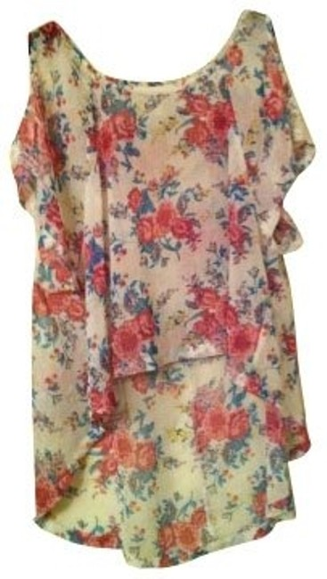 Preload https://item1.tradesy.com/images/millau-floral-blouse-size-4-s-620-0-0.jpg?width=400&height=650