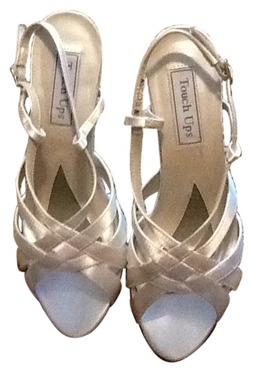 Touch Ups White Sandals