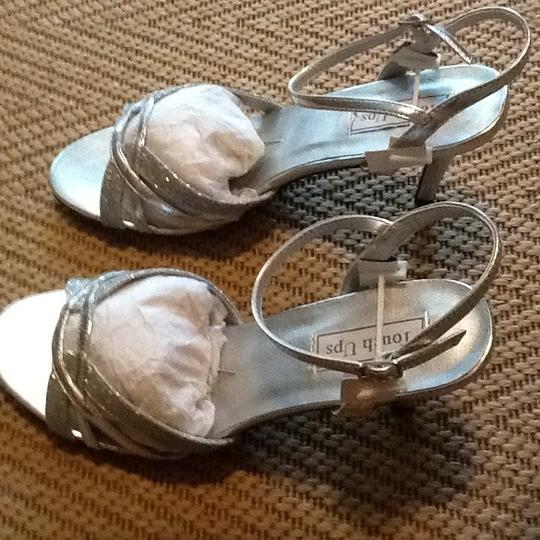 Touch Ups Silver Sandals
