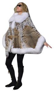 Fine Lynx&fox Trim Fur Coat