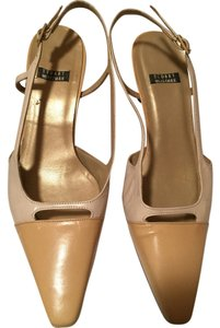 Stuart Weitzman Two tone tan Pumps