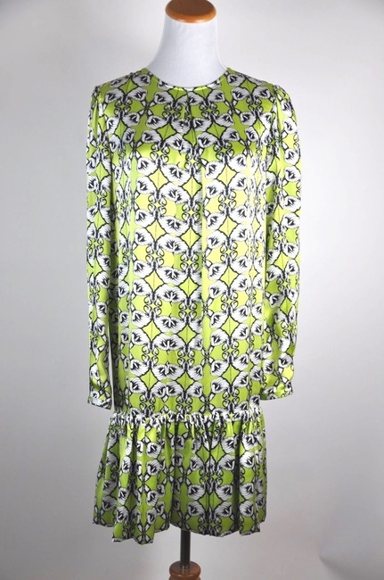 Thomas Wylde Lily Long Sleeve Silk Size Small Dress