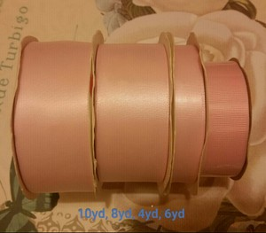 Various Ribbons Bundle - Pink
