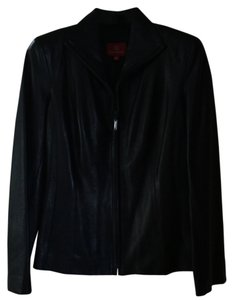 Cole Haan Black leather Blazer