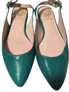 Vince Camuto Turquoise Flats