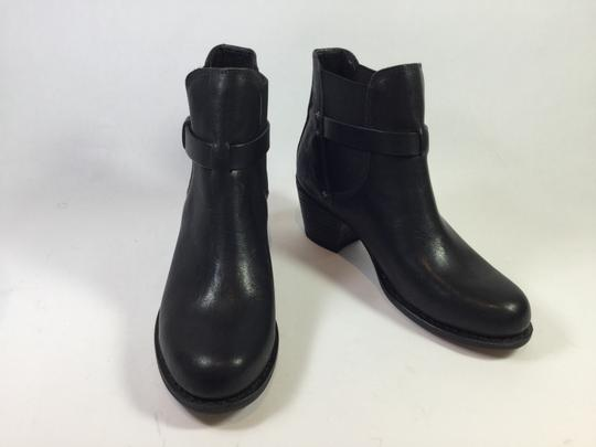 Rag & Bone Ankle Leather Black Boots