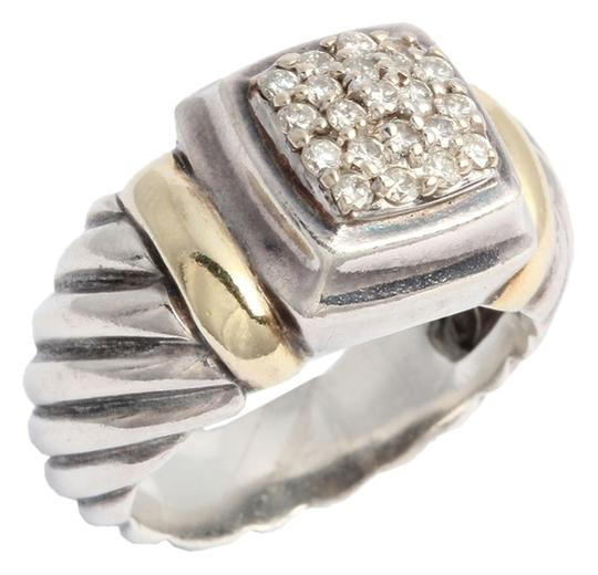 Preload https://item1.tradesy.com/images/david-yurman-silver-and-gold-pave-diamond-ring-6201160-0-0.jpg?width=440&height=440