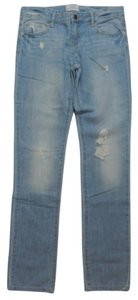 Aéropostale Bayla Distressed Skinny Jeans-Distressed