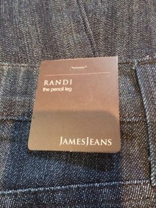 James Jeans Pencil Leg Skinny Jeans-Medium Wash