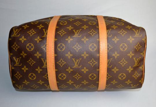 Louis Vuitton Vintage Duffle Gym Monogram Brown Travel Bag